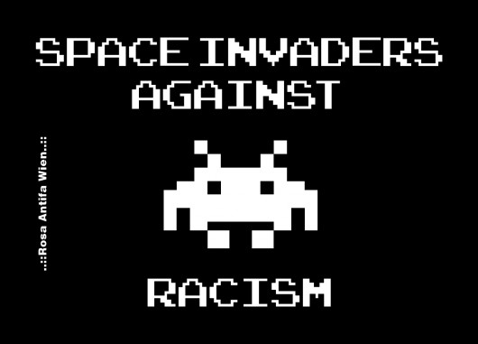 Space Invaders against Racism