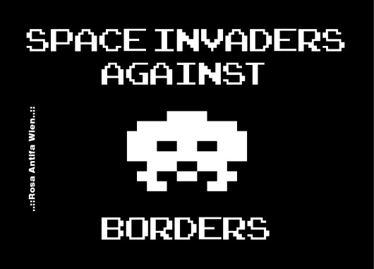 Space Invaders against Borders